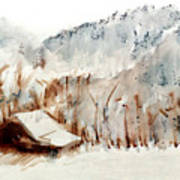 Cold Cove Print by Seth Weaver