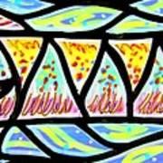 Colorful Longfish Print by Jim Harris