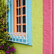 Colorful Walls Print by Jeremy Woodhouse