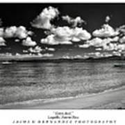 Costa Azul Print by Jaime Hernandez