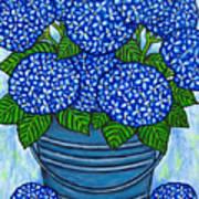 Country Blues Print by Lisa  Lorenz