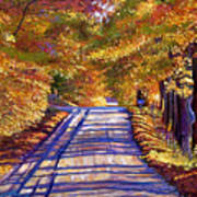 Country Road Print by David Lloyd Glover