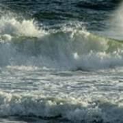 Crashing Wave Print by Sandy Keeton