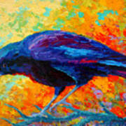 Crow IIi Print by Marion Rose