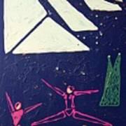 Dancing Under The Starry Skies Print by J R Seymour