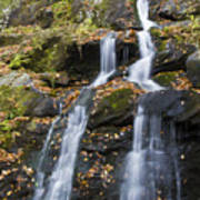 Dark Hollow Falls Shenandoah National Park Print by Pierre Leclerc Photography