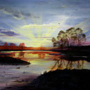 Dawn Print by Jane Autry