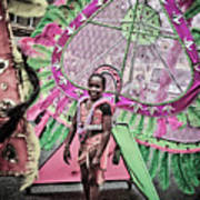 Dc Caribbean Carnival No 14 Print by Irene Abdou