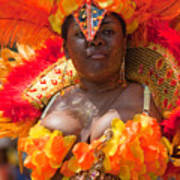 Dc Caribbean Carnival No 23 Print by Irene Abdou