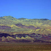 Death Valley - Land Of Extremes Print by Christine Till