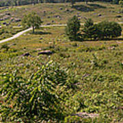 Devils Den From Little Round Top Print by David Bearden
