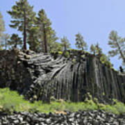 Devil's Postpile - Talk About Natural Wonders Print by Christine Till