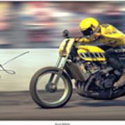 Dirt Speed Print by Lar Matre