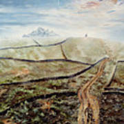 Distant Journey Print by Richard Barham