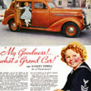 Dodge Automobile Ad, 1936 Print by Granger