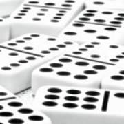 Dominoes I Print by Tom Mc Nemar