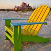 Don Cesar And Beach Chair Print by David Lee Thompson