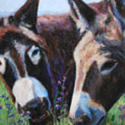 Donkey Tonk Print by Billie Colson