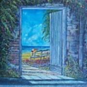 Doorway To ... Print by Sinisa Saratlic