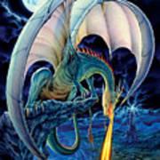 Dragon Causeway Print by The Dragon Chronicles - Robin Ko