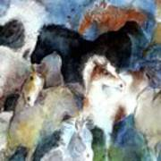 Dream Of Wild Horses Print by Christie Michelsen