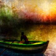 Drifting Into The Light Print by Bob Orsillo