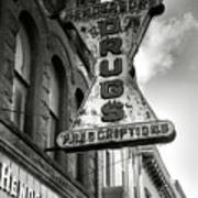 Drug Store Sign Print by Steven Ainsworth