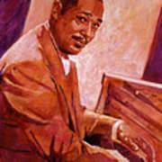 Duke Ellington Print by David Lloyd Glover