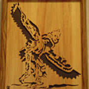 Eagle Dancer Print by Russell Ellingsworth