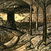 Early Morning Print by Samuel Palmer