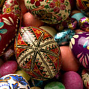 Easter Eggs Print by Garry Gay