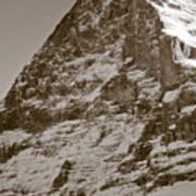 Eiger North Face Print by Frank Tschakert