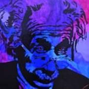Einstein-all Things Relative Print by Bill Manson