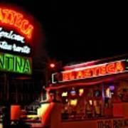 El Azteca Restaurant Print by Corky Willis Atlanta Photography