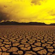 El Mirage Desert Print by Larry Dale Gordon - Printscapes