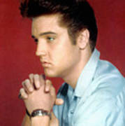 Elvis Presley, 1950s Print by Everett