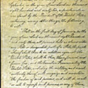 Emancipation Proc., P. 1 Print by Granger