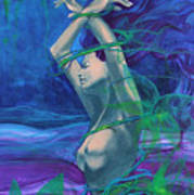 Entangled In Your Love... Print by Dorina  Costras