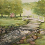 Evelyn's Creek Print by Becky West