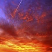 Exploded Sky Print by Michal Boubin