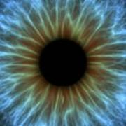 Eye, Iris Print by Pasieka