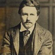 Ezra Pound 1885-1972, In The 1920s Print by Everett