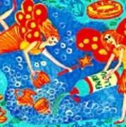 Fairy Liquid Print by Sushila Burgess