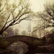 Fairy Of New York Print by Irene Suchocki