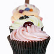 Fancy Cupcakes Print by Jane Rix
