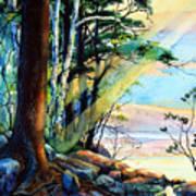Fantasy Island Print by Hanne Lore Koehler