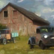 Farm Scene Print by Jack Zulli