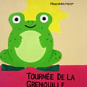 Fat Frog Best Print by Oliver Johnston