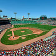 Fenway Park - Boston Red Sox Print by Mark Whitt
