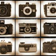 Film Camera Proofs 1 Print by Mike McGlothlen